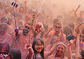 Color Run illumine Guangzhou