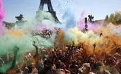 « Color run » illumine Paris