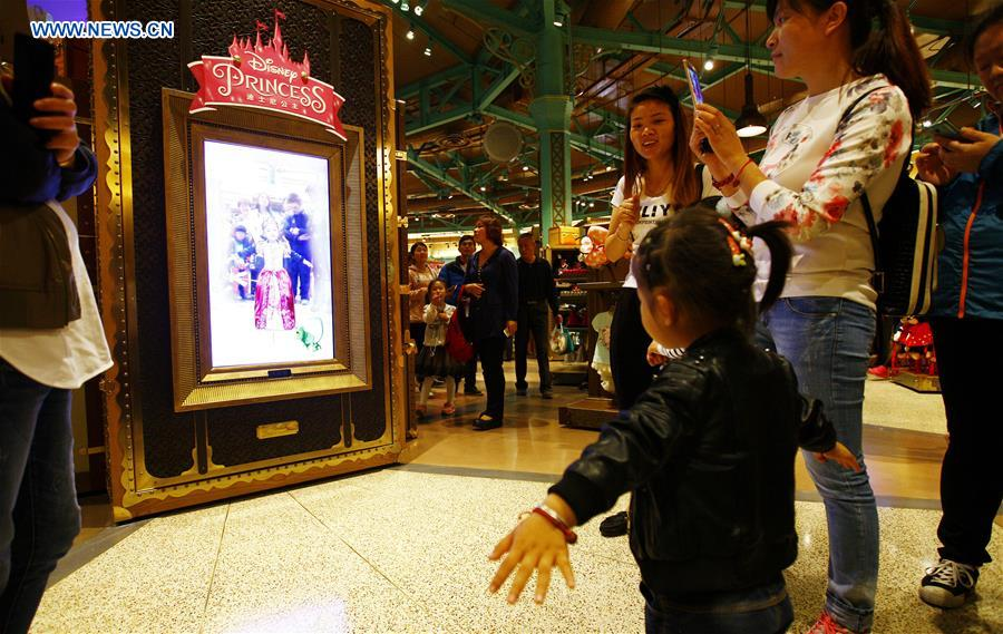 Les magasins de Disney, l'attraction du moment à Shanghai