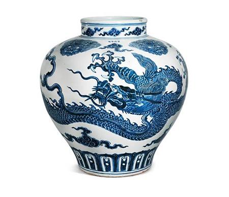 hong kong un vase de la dynastie des ming vendu aux ench res. Black Bedroom Furniture Sets. Home Design Ideas