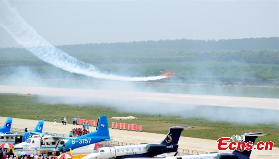 Hubei : début du salon aéronautique World Fly-in Expo 2019