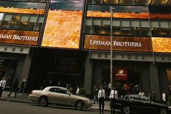 Faillite de la banque américaine Lehman Brothers