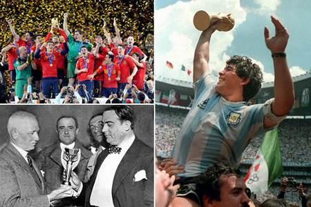 Coupe du monde de football la liste des vainqueurs - Vainqueur coupe du monde 2010 ...