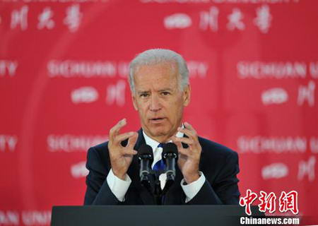 Joe Biden en Chine