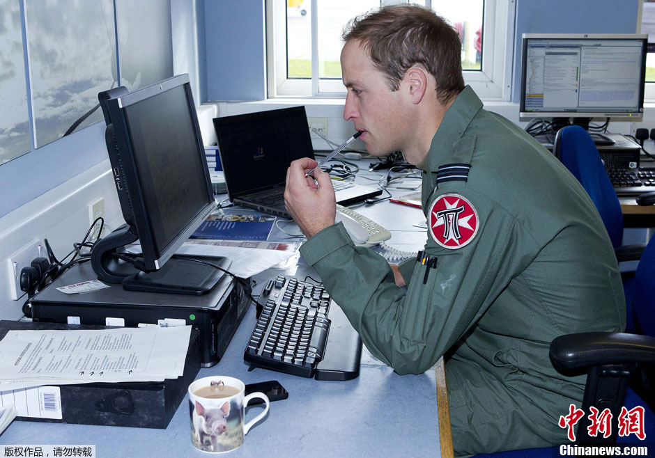 Des photos du prince William révèlent des informations confidentielles de la défense britannique
