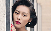 Le top-modèle chinois Liu Wen illustre China OK !